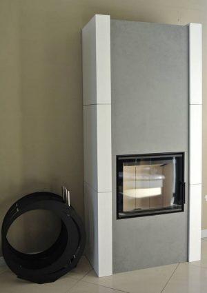 kominek kaflowy wkład Romotop Heat